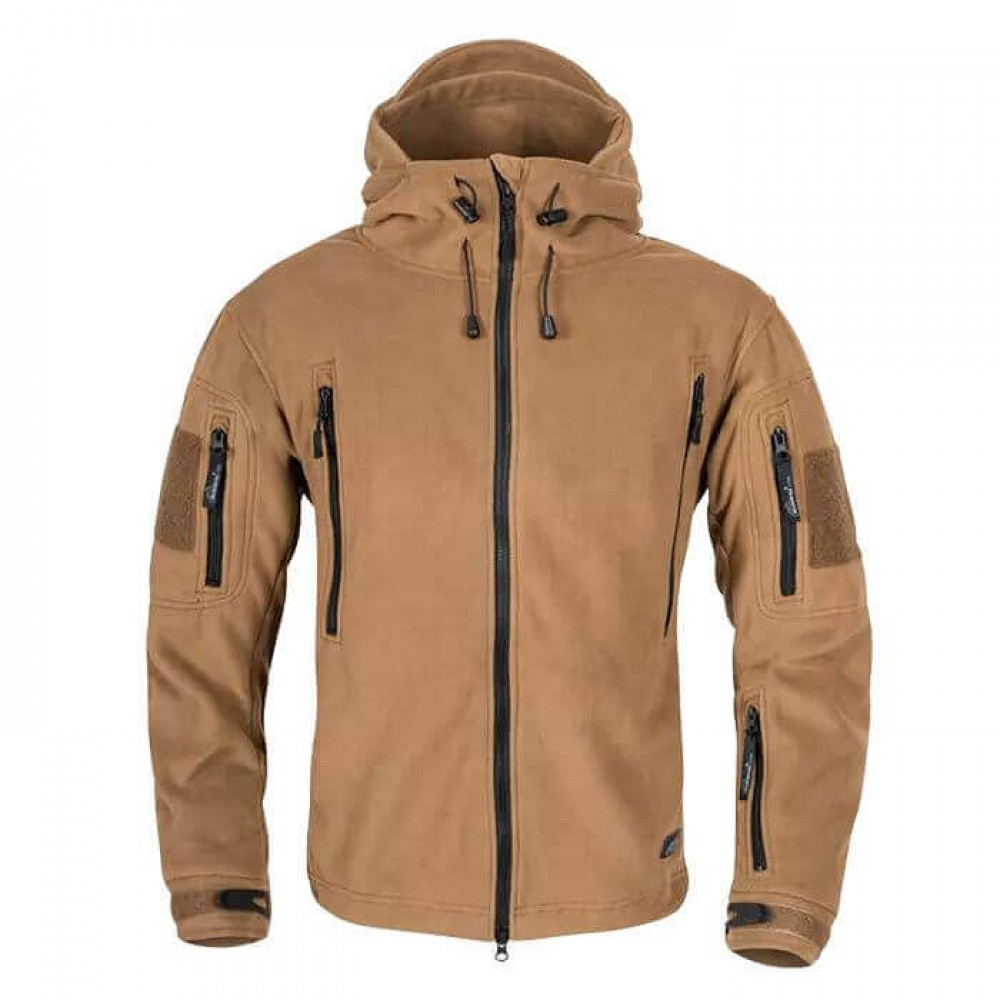 Куртка Patriot Double Fleece Helikon-Tex Coyote