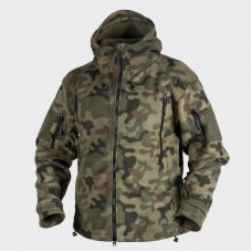 Куртка Patriot Double Fleece Helikon-Tex PL Woodland